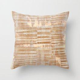 Rusty Grid Throw Pillow