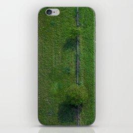 Aerial green iPhone Skin