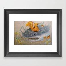 Feast or Fury Framed Art Print