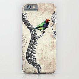 Chloebia Gouldiae iPhone Case