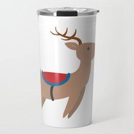 Cristmas Reineer - Rudolph Travel Mug