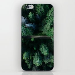 forest, aerial view iPhone Skin