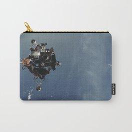Apollo 9 - Lunar Module Over Earth Carry-All Pouch