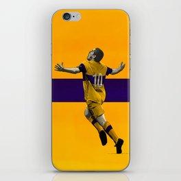 Juan Roman Riquelme - Boca Juniors iPhone Skin