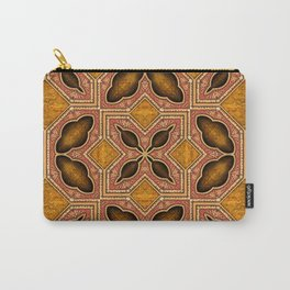 Victorian Art Deco Medieval Pattern SB35 Carry-All Pouch