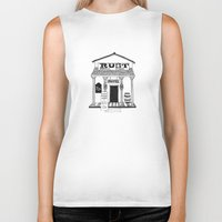 general Biker Tanks featuring General Store by Mrs. Ciccoricco