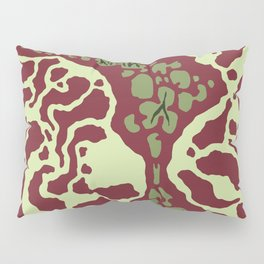 Pitcher Plant Pattern Pillow Sham