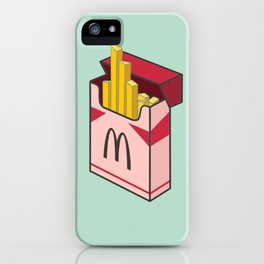 Pocket french fries iPhone Case