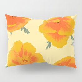 California Poppies Pillow Sham
