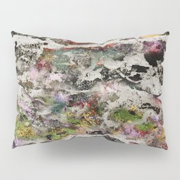 Abstract with Leaf Pillow Sham