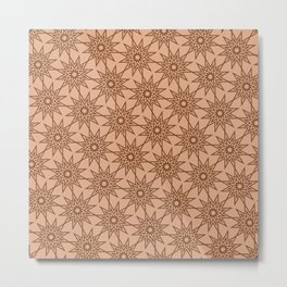 Op Art 164 Metal Print