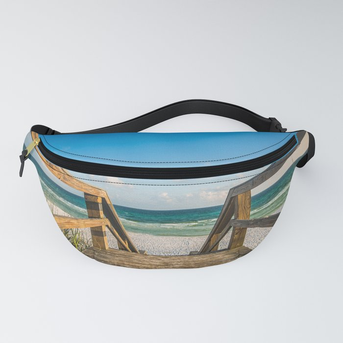 Head to the Beach - Boardwalk Leads to Summer Fun in Florida Fanny Pack