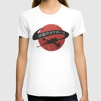 cowboy bebop T-shirts featuring Space Cowboy - Red Sun by Snorting Pixels