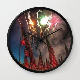 1,000-Flag Charlestown Field Of Honor Wall Clock