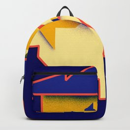 Be Yourself blue Backpack