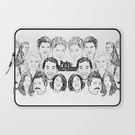 Parks and Recreation 'Rec a Sketch' Laptop Sleeve