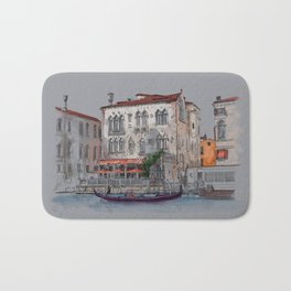 Evening in Italy Bath Mat