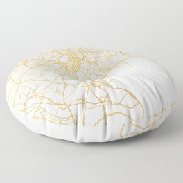 TOKYO JAPAN CITY STREET MAP ART Floor Pillow