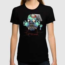Zombie Monster Cartoon Doll T-shirt