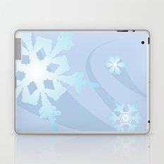 Winter Flakes Laptop & iPad Skin
