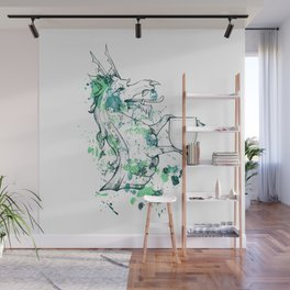 Herald - Dragon Shield Wall Mural
