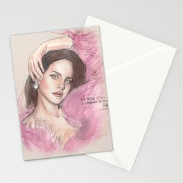 Lustful Lana Stationery Cards