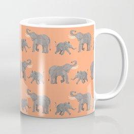 Cheerful Elephants Coffee Mug