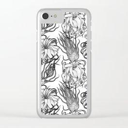 Tillandsia Tile Clear iPhone Case