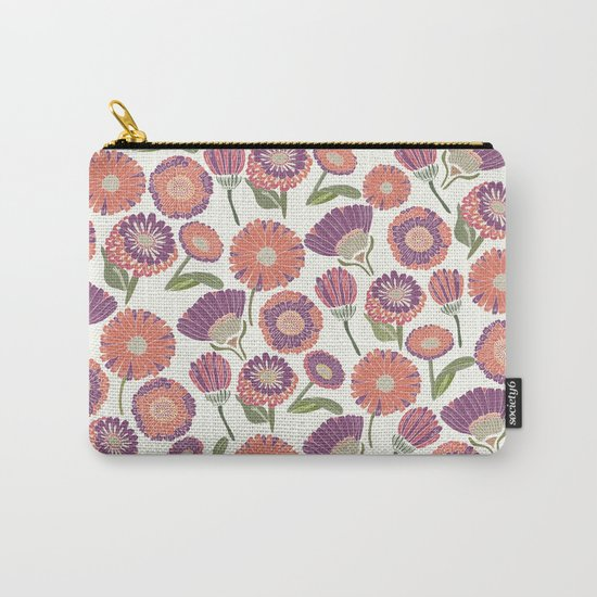 Our Florals Carry-All Pouch