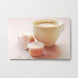 Cupcakes & Coffee  Metal Print