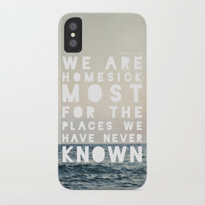 Homesick iPhone Case