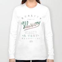 einstein Long Sleeve T-shirts featuring Einstein by vova trinjak