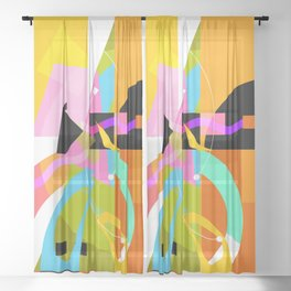 New Day Sheer Curtain