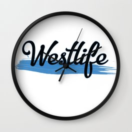 westlife1 Wall Clock