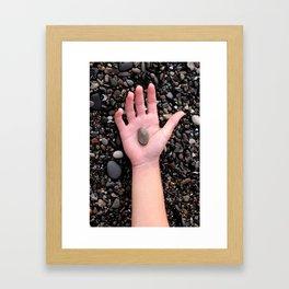 HAND ROCK Framed Art Print