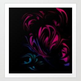 Light pattern 2 Art Print