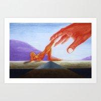 Emotional Landscape Art Print