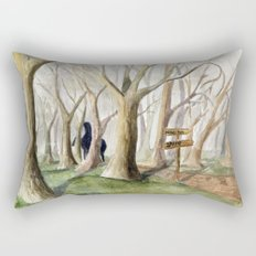 Middle Earth Rectangular Pillow