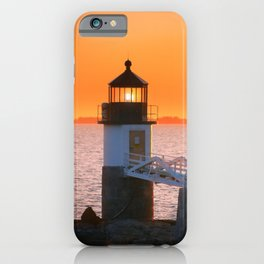 Marshall Point at Golden Hours iPhone Case
