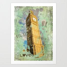 Big Ben 02 Art Print