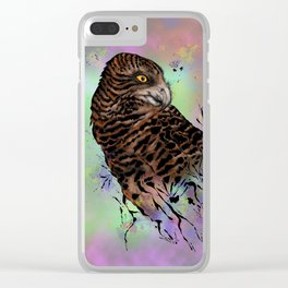 Harriet Owl Clear iPhone Case