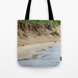Lake Michigan Shoreline Tote Bag