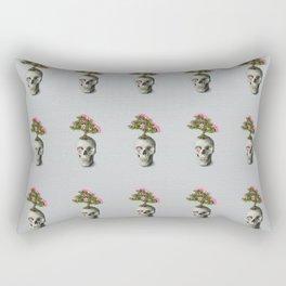 Bonsai Skull Rectangular Pillow