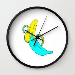 pis-ang (banana) Wall Clock