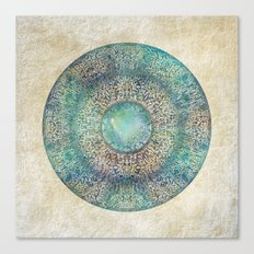Moon Mandala Canvas Print