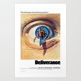 Deliverance  1972 Art Print