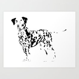 Always Spotted Art Print