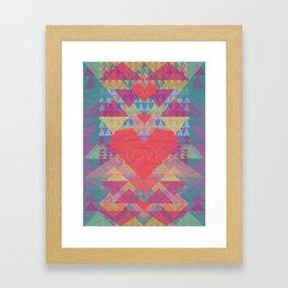 Love Me Lots Framed Art Print