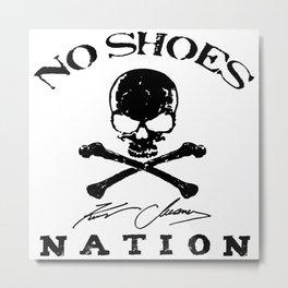 kenny no shoes nation chesney ori 2020 tour pasti Metal Print