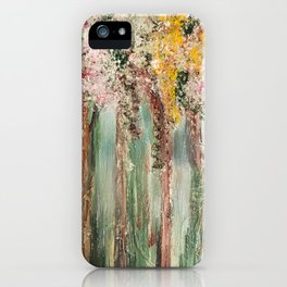 Woods in Spring iPhone Case